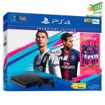 Sony Playstation 4 Slim 500 GB FIFA19 Bundle Jet Black Console  CUH-2106AB01 -1 Years Warranty by Sony Malaysia
