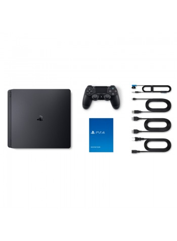 Sony Playstation 4 Slim 500 GB FIFA19 Bundle Jet Black Console  CUH-2106AB01 -1 Years Warranty by Sony Malaysia