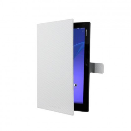 Roxfit Sony Xperia Z / Z2 Tablet Slimline Book Case White Colour (Original)