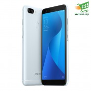 Asus Zenfone Max Plus (M1) Smartphone ZB570TL 4GB RAM 32GB Azure Silver Colour (Original) 1 Year Warranty By Asus Malaysia