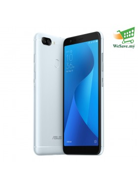 Asus Zenfone Max Plus (M1) Smartphone ZB570TL 4GB RAM 32GB Azure Silver Colour (Original) 1 Year Warranty By Asus Malaysia