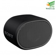 (PRE-ORDER) Sony SRS-XB01 EXTRA BASS Portable BLUETOOTH Speaker Black Colour (Original) 1 Year Warranty From Sony Malaysia