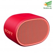 (PRE-ORDER) Sony SRS-XB01 EXTRA BASS Portable BLUETOOTH Speaker Red Colour (Original) 1 Year Warranty From Sony Malaysia