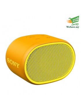 (PRE-ORDER) Sony SRS-XB01 EXTRA BASS Portable BLUETOOTH Speaker Yellow Colour (Original) 1 Year Warranty From Sony Malaysia