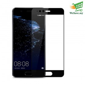 Huawei P10 Plus Half Cover Black Colour Tempered Glass (Original)
