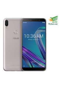 Asus Zenfone Max Pro (M1) Smartphone ZB602KL 4GB RAM 64GB Meteor Silver Colour (Original) 1 Year Warranty By Asus Malaysia