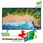 "Samsung UA55NU7100KXXM 55"" Flat Smart 4K UHD TV (Original) 2 Years By Samsung Malaysia FOC PETROL CARD"