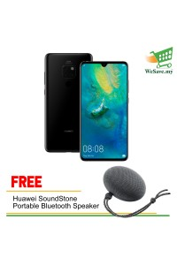 Huawei Mate 20 Smartphone 6GB RAM 128GB Black Colour (Original) 1 Year Warranty By Huawei Malaysia