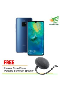Huawei Mate 20 Smartphone 6GB RAM 128GB Midnight Blue Colour (Original) 1 Year Warranty By Huawei Malaysia