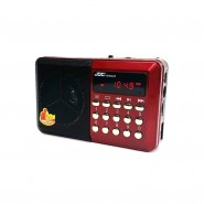 JOC Radio Rechargable MP3 Player with 30 Juz' of Al-Quran Without SD/Memory Card