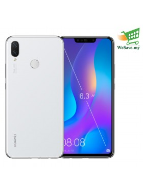 Huawei Nova 3i Smartphone 4GB RAM 128GB Pearl White Colour (Original) 1 Year Warranty By Huawei Malaysia