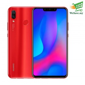 Huawei Nova 3 Smartphone 6GB RAM 128GB Red Colour (Original) 1 Year Warranty By Huawei Malaysia