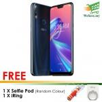 (FREE Selfie Pod & iRing) Asus ZenFone Max Pro (M2) Smartphone ZB631KL 6GB RAM 64GB Blue Colour (Original) 1 Year Warranty By Asus Malaysia