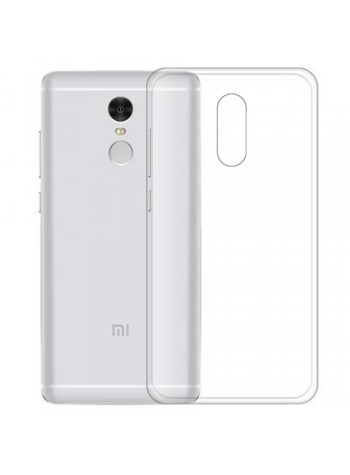 Xiaomi Redmi Note 4 Clear Transparent Crystal TPU Silicone Case Cover (Original)