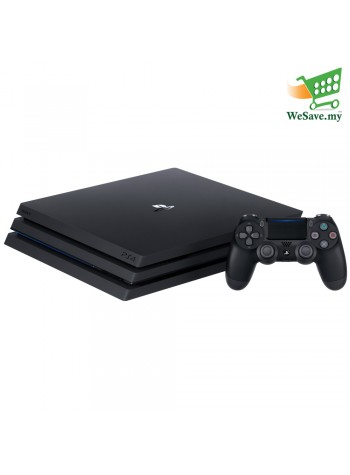 Sony PlayStation 4 Pro CUH-7218CB PS4 Pro Console Player 8GB RAM 2TB Jet Black Colour (Original) 1 Years Warranty By Sony Malaysia