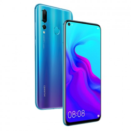 Huawei Nova 4 Smartphone 8GB RAM 128GB Blue Colour (Original) 1 Year Warranty From Huawei Malaysia