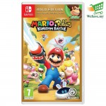 Nintendo Switch Game Mario + Rabbids Kingdom Battle Gold Edition (Original) by Nintendo