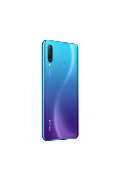 (FREE Huawei AP38 Car Charger) Huawei Nova 4e Smartphone 6GB RAM 128GB Peacock Blue Colour (Original) 1 Year Warranty By Huawei Malaysia