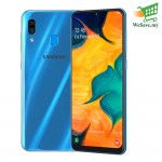 Samsung Galaxy A30 Smartphone 4GB RAM 64GB Blue Colour (Original) 1 Year Warranty By Samsung Malaysia