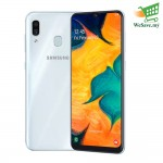 Samsung Galaxy A30 Smartphone 4GB RAM 64GB White Colour (Original) 1 Year Warranty By Samsung Malaysia