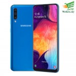 Samsung Galaxy A50 Smartphone 6GB RAM 128GB Blue Colour (Original) 1 Year Warranty By Samsung Malaysia