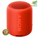 Sony SRS-XB12 EXTRA BASS Portable BLUETOOTH Speaker Red Colour (Original) 1 Year Warranty By Sony Malaysia