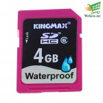Kingmax 4GB SDHC Memory Card (Original)