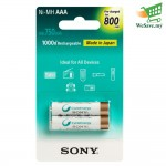 Sony NHAAAB2KN AAA 800 mAh Pre-Charged Battery (Original)