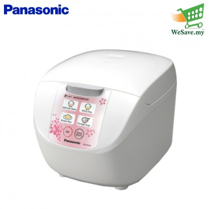 Panasonic SR-DF181PSK Jar Rice Cooker (Microcomputer) 1.8L - Pink (Original)1 Years Warranty By Panasonic Malaysia