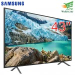 "Samsung UA43RU7100KXXM 43"" Flat Smart 4K UHD TV (Original) 2 Years By Samsung Malaysia"