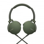 *Display Unit* Sony MDR-XB550AP Army Green EXTRA BASS Headphones MDR-XB550AP/G (Original) from Sony Malaysia