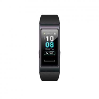 Huawei Band 3 Heart Rate Monitoring / Smart Sports Tracking Pearl Black Colour (Original)