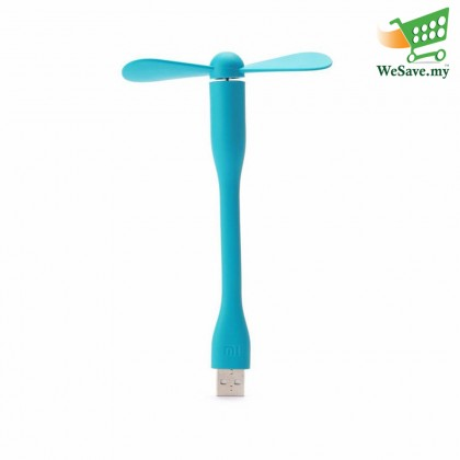 Portable & Flexible Mi USB Fan Blue Colour (Original)