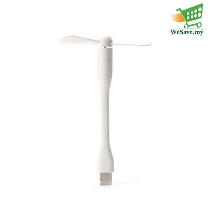 Portable & Flexible Mi USB Fan White Colour (Original)