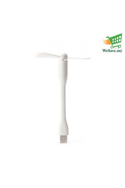 Portable & Flexible Mi USB Fan White Colour (Original)