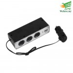USB Power Supply / Charger Supply & 3 Sockets WF-0096