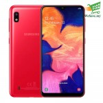 Samsung Galaxy A10 Smartphone 2GB RAM 32GB Red Colour (Original) 1 Year Warranty By Samsung Malaysia