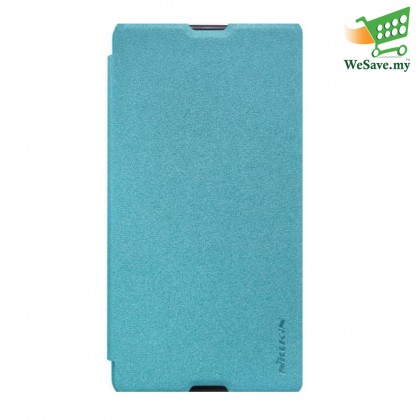 Nillkin Sparkle Leather Case for Sony Xperia M5 Blue Colour