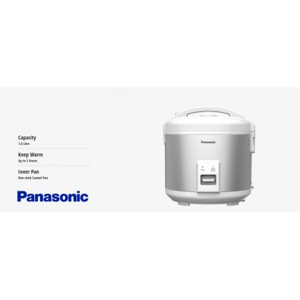 Panasonic SR-RN188 Mechanical Rice Cooker 1.8L - Silver (Original) 1 Years Warranty By Panasonic Malaysia