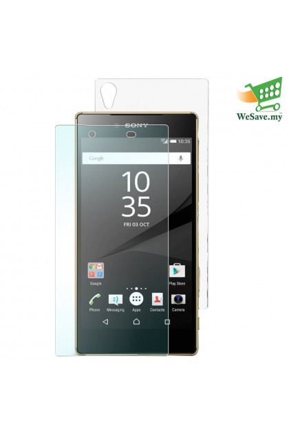 Sony Xperia Z5 Tempered Front And Tempered Back (2 in 1) Half Cover Tempered Glass