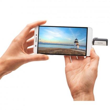 SanDisk Ultra Dual Flash Drive Type-C 64GB 150MB/s OTG USB 3.1 Flash Drive Pendrive/ Flash Drive/ Thumbdrive (Original)