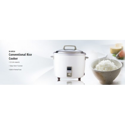 Panasonic SR-WN36 Conventional Rice Cooker 3.6L (Original) 1 Years Warranty By Panasonic Malaysia