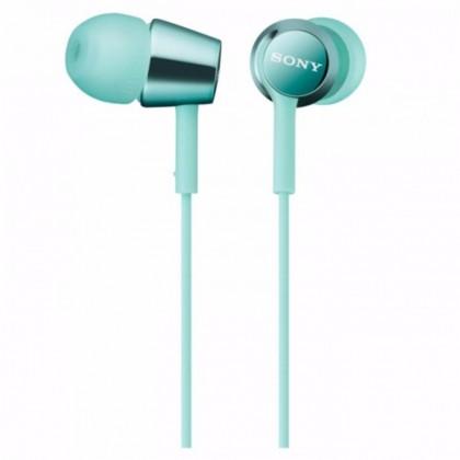 Sony MDR-EX150AP/LM Earphone / Headphone MDR-EX150AP (Original) by Sony Malaysia - Mint Blue Colour
