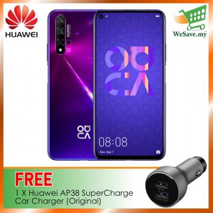 (FREE Huawei AP38 Car Charger) Huawei Nova 5T Smartphone 8GB RAM 128GB Midsummer Purple Colour (Original) 1 Year Warranty By Huawei Malaysia