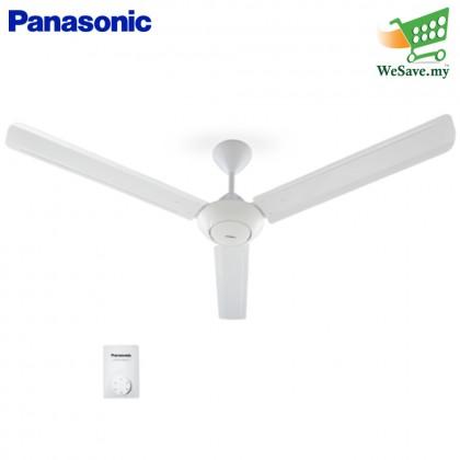 "Panasonic F-M15A0 Regulator 3-Blade Ceiling Fan 60"" (Original) 1 Years Warranty By Panasonic Malaysia"