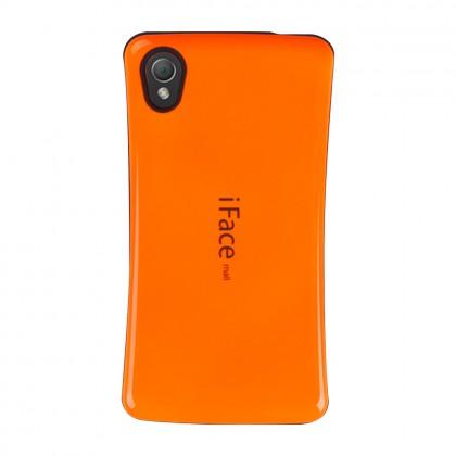 iFace Mall Sony Xperia M4 Aqua Hard Case Orange Colour