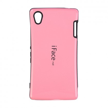 iFace Mall Sony Xperia Z3 Hard Case Pink Colour