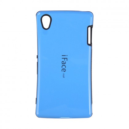 iFace Mall Sony Xperia Z3 Hard Case Blue Colour