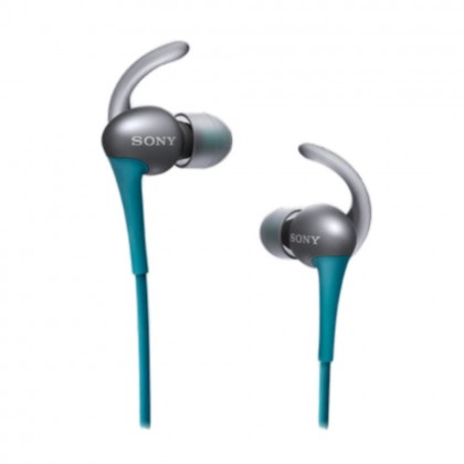 Sony MDR-AS800AP Blue Sport In-ear Headphones with Mic MDR AS800/L (Original) by Sony Malaysia