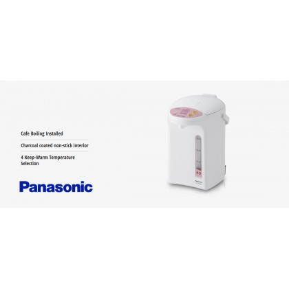 Panasonic NC-EG4000PSK 4L Electric Thermo Pot (Original) 1 Years Warranty By Panasonic Malaysia